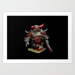 scarred pekka Art Print
