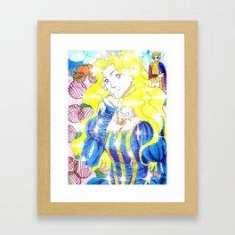 Cenerentola Framed Art Print