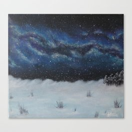 Winter's Welcome Canvas Print