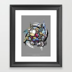 design monkey Framed Art Print