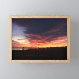 RAGING SUNSET Framed Mini Art Print