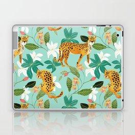 Cheetah Jungle #illustration #pattern Laptop & iPad Skin