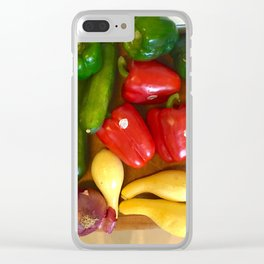 Rainbow in the Kitchen Clear iPhone Case