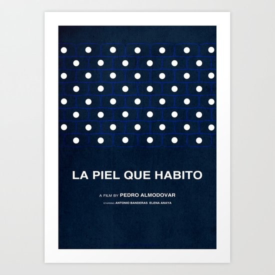 La Piel que Habito - MINIMALIST POSTER Art Print