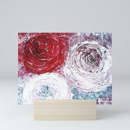 Magic roses Mini Art Print