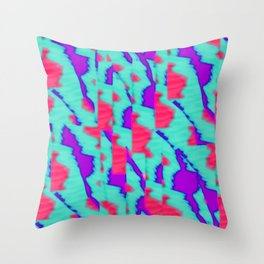 pattern funk colortheme 2 Throw Pillow