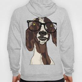 Hipster Goat Hoody