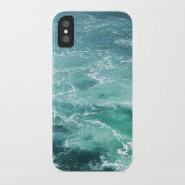 Sea Waves | Seascape Photography | Water | Ocean | Beach | Aerial Photography iPhone Case