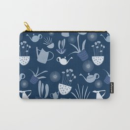 Wintergarden Pattern Carry-All Pouch