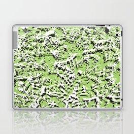 Green White Black Laptop & iPad Skin
