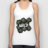 into the wild Tank Tops featuring Wild by Camila Escat