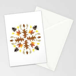 Tree Mandala 2 - Watercolor Stationery Cards