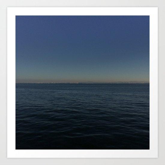 Distant Shore Art Print