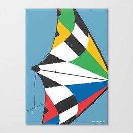 Kite—Sky Blue Canvas Print