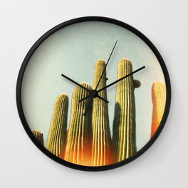 California photography, California Wall Art, Palm Springs Wall Clock