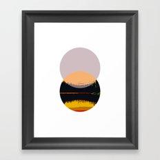 Minimalist Geometric Art Framed Art Print