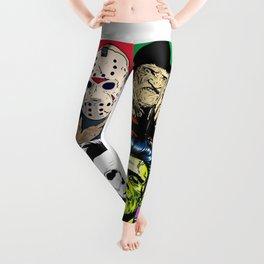 Horror Pop Art Leggings
