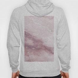 Pastel pink burgundy elegant abstract marble pattern Hoody