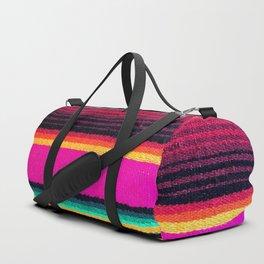 Magenta Sky Serape Duffle Bag