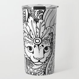 Cat dragon Travel Mug