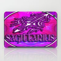 astrology iPad Cases featuring Sagittarius Zodiac Sign Astrology by CAP Artwork & Design