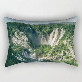 Plitvice Lakes Rectangular Pillow