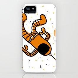 cosmonaut in space iPhone Case