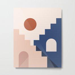 Morocco Abstract 2/3 Metal Print