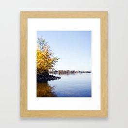 Fall Colours Framed Art Print