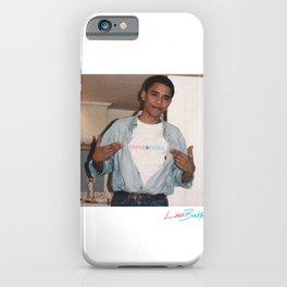LB Barack iPhone Case