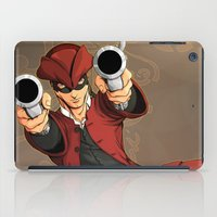 dick iPad Cases featuring Dick Turpin by Eco Comics