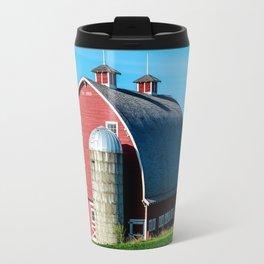 Historic Red Barn - Palouse Region - Washington Travel Mug