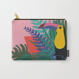 Toucan pink Carry-All Pouch