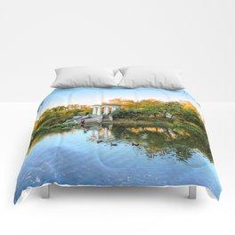 Autumn park Comforters