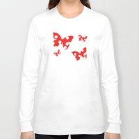 polka dot Long Sleeve T-shirts featuring Polka dot by Bubblemaker