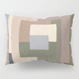Abstract Neutrals Pillow Sham