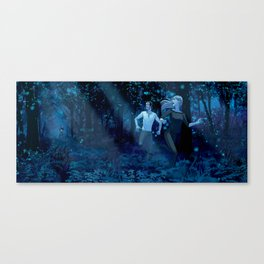 Wilde Life - Forest Run Canvas Print