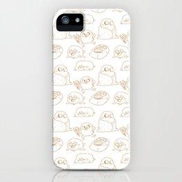 Jake Pattern iPhone Case