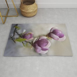 Dark pink beauty Rug