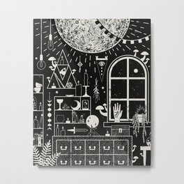 Moon Altar Metal Print