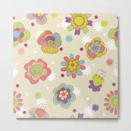 Beautiful flower design Metal Print