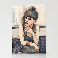 grimes Stationery Cards featuring Grimes by Helen Green