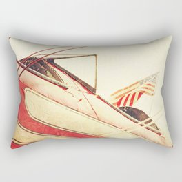 Salute // Antique Airplane Rectangular Pillow