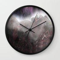 art history Wall Clocks featuring Unknown History  by John Hansen