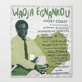 Wadja Egnankou Canvas Print