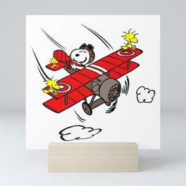 Snoopy Sky Mini Art Print