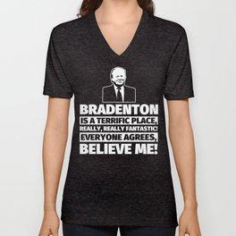 Bradenton Funny Gifts - City Humor Unisex V-Neck