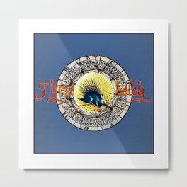 Bosch Bubble Porcupine Metal Print