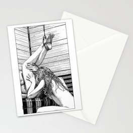 asc 685 - Les jambes en l'air (Tonight so high with you) Stationery Cards