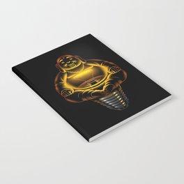 Buddha Lamp Notebook